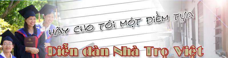Nhà trọ Việt :: Thuê nhà trọ :: cho thuê nhà trọ :: tìm người ở ghép - hà nội :: tp.hồ chí minh