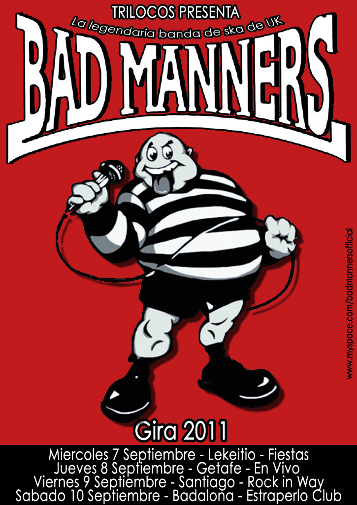 BAD MANNERS / SEPTIEMBRE 2011  BadMannerscopy