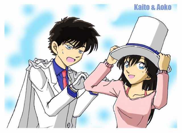 Mở hàng nào  Kaito Kitsudo & Aoko Nakamori! ( sưu tầm ) 12