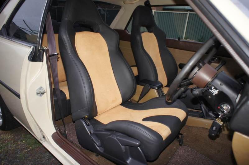 Mazda 626 CB2 Seat3