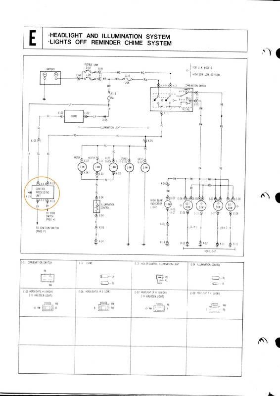 Mazda 929L 1978 - Page 2 929L%20Headlight%20Wiring1_zpsteozgmne