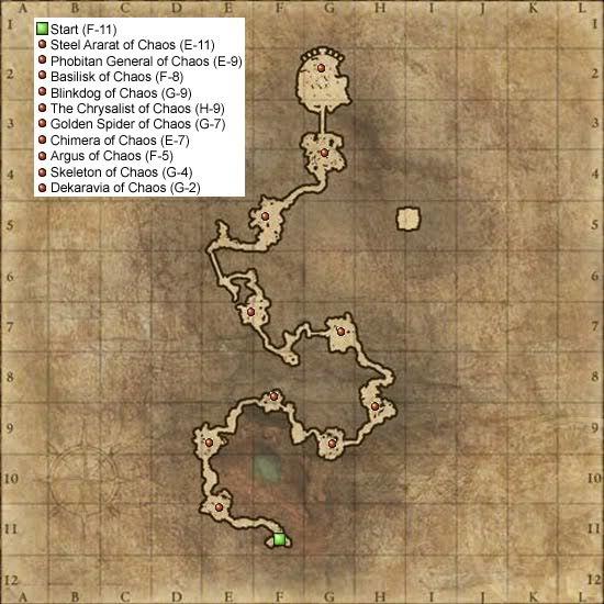 Castilla, Mines CastillaMines-Map