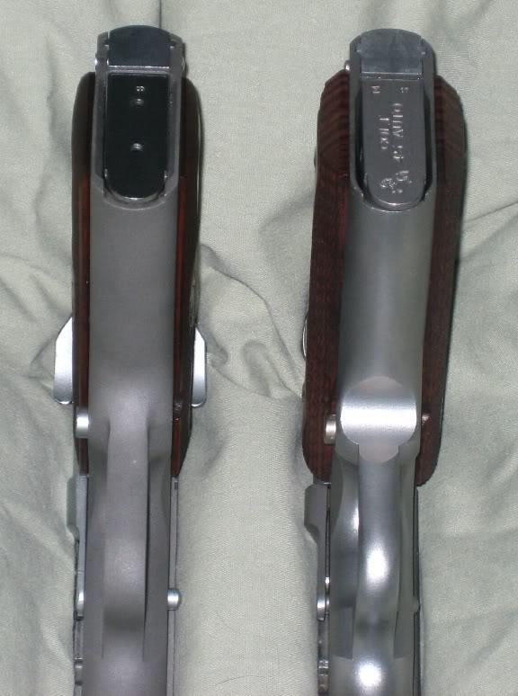 Plaquettes pour Colt 1911 SlimGrips