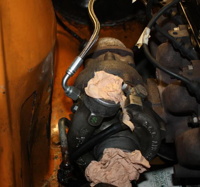 Motor vill inte ligga stilla vid gaspådarg, trångt om plats. Turboproblem1