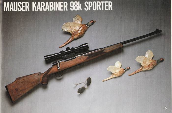 CMC Catalogue Vol 6 K98sporter