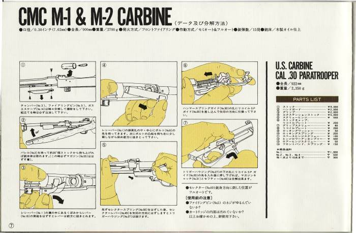 CMC Catalogue Vol 6 Carbine1