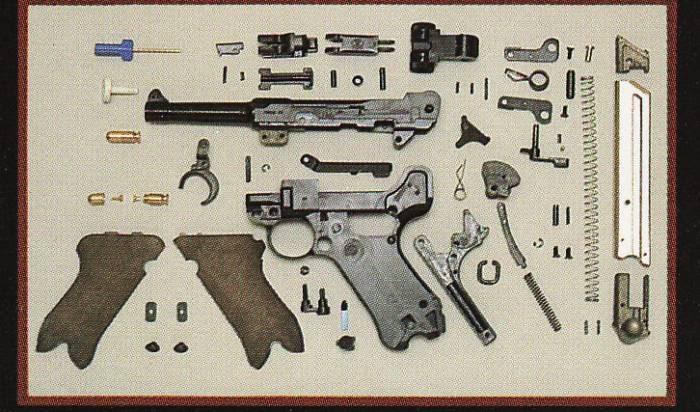 MGC Assembly Kit Flyers Lugerkit