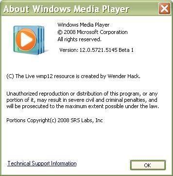 Windows Media Player 12 Mdp2
