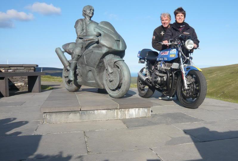 Steve Elliott bike  P1030020