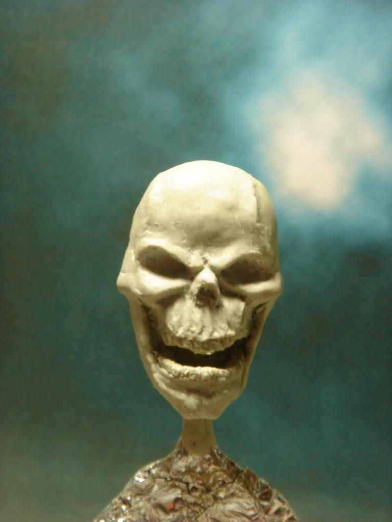 Busto desde 0 Ghost Rider DSC06275