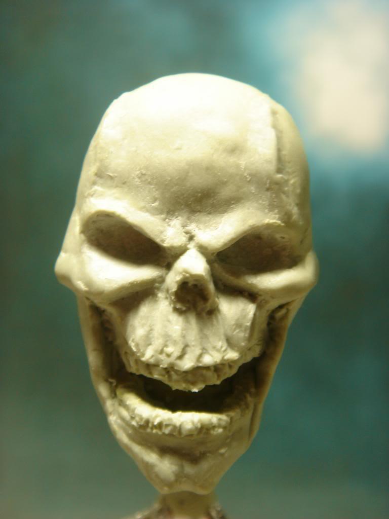 Busto desde 0 Ghost Rider DSC06276