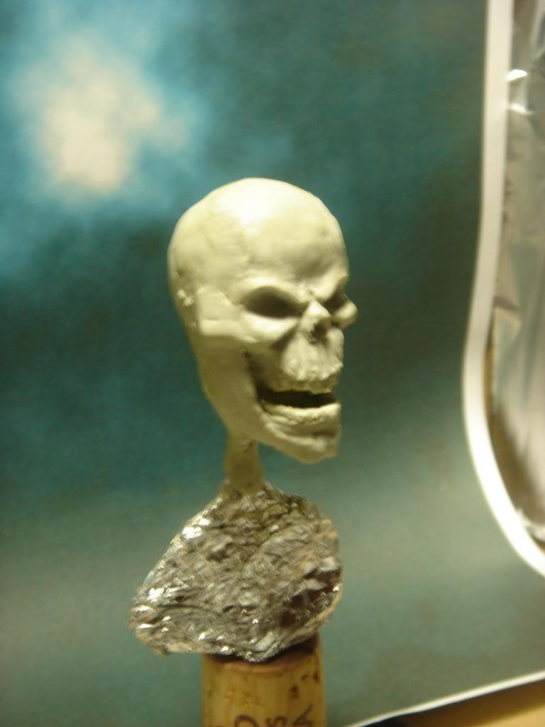 Busto desde 0 Ghost Rider DSC06277