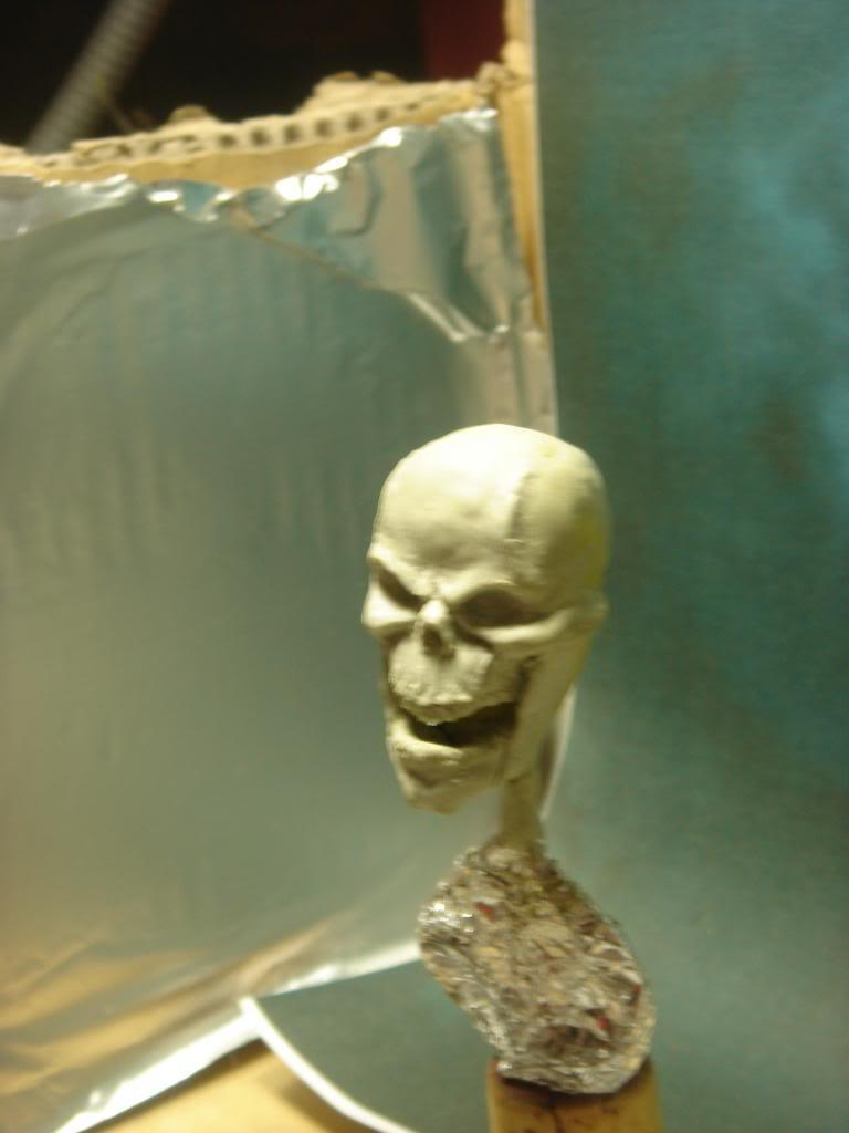 Busto desde 0 Ghost Rider DSC06278