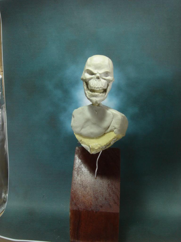 Busto desde 0 Ghost Rider DSC06321
