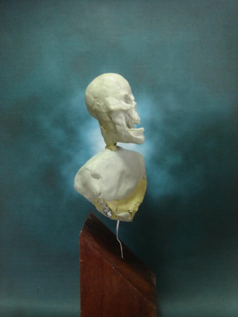 Busto desde 0 Ghost Rider DSC06324