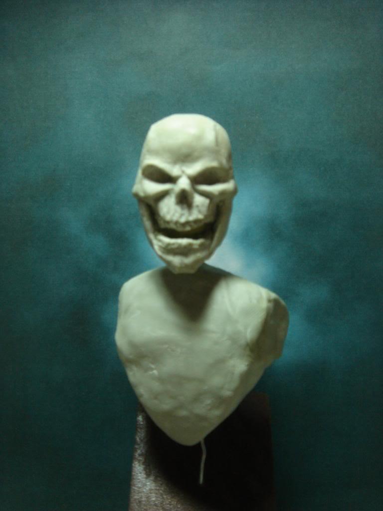 Busto desde 0 Ghost Rider DSC06326