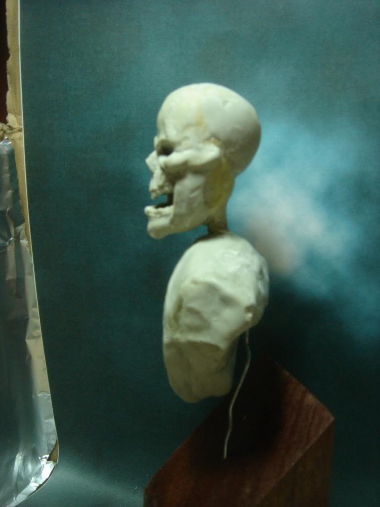 Busto desde 0 Ghost Rider DSC06327