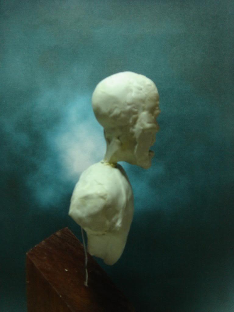 Busto desde 0 Ghost Rider DSC06328