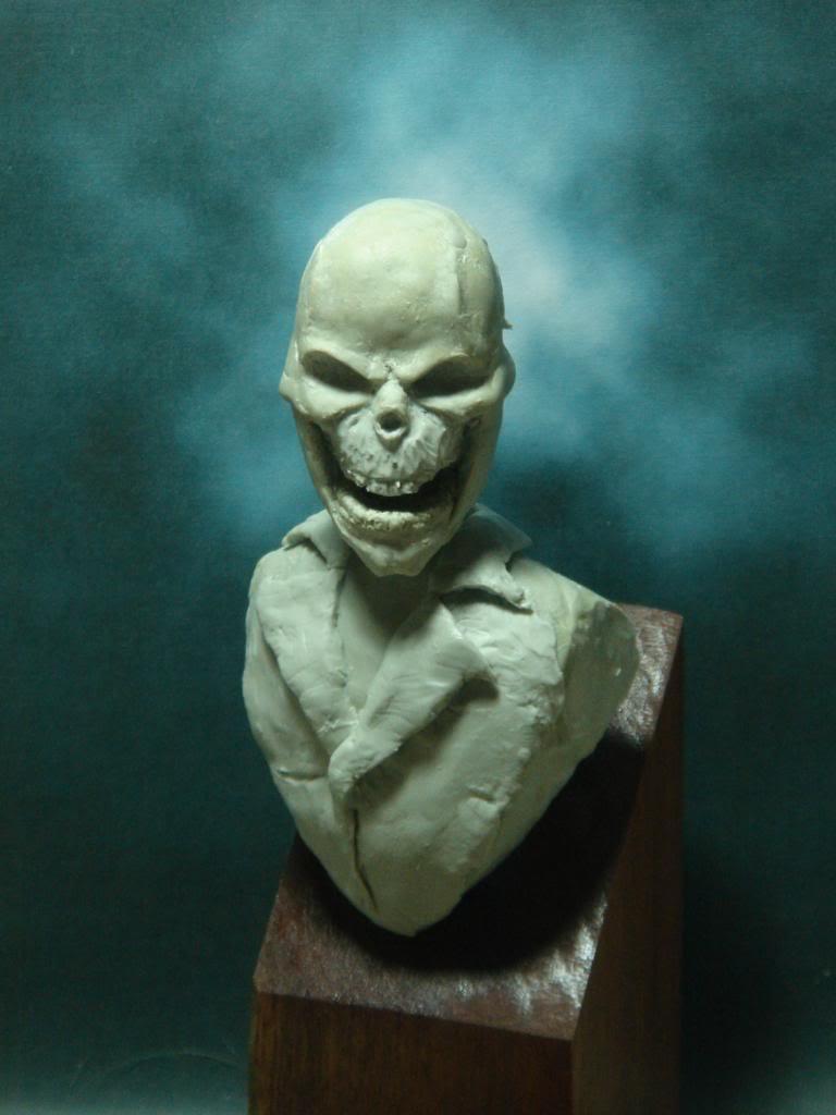 Busto desde 0 Ghost Rider DSC06329