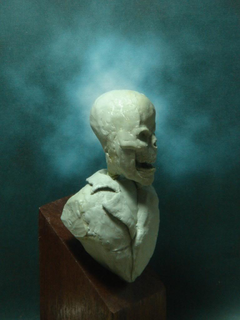 Busto desde 0 Ghost Rider DSC06330