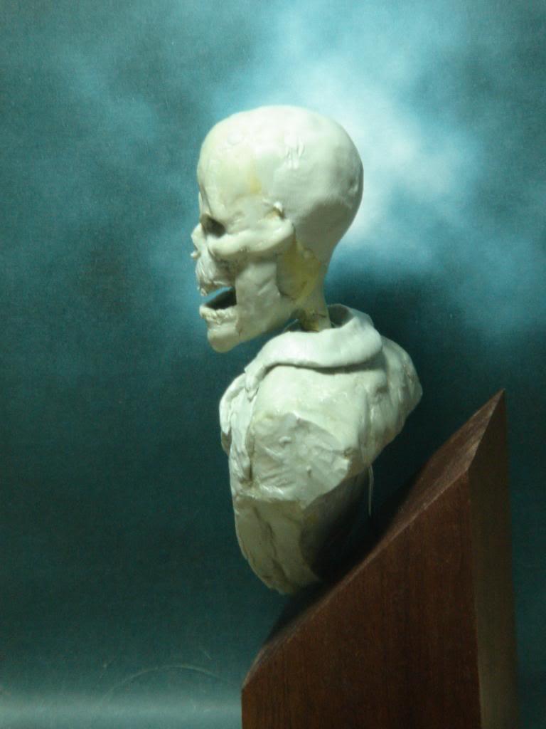Busto desde 0 Ghost Rider DSC06331