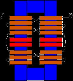 Construcción transformador alto voltaje EsquematransformadorHV-11