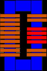 Construcción transformador alto voltaje EsquematransformadorHV-2