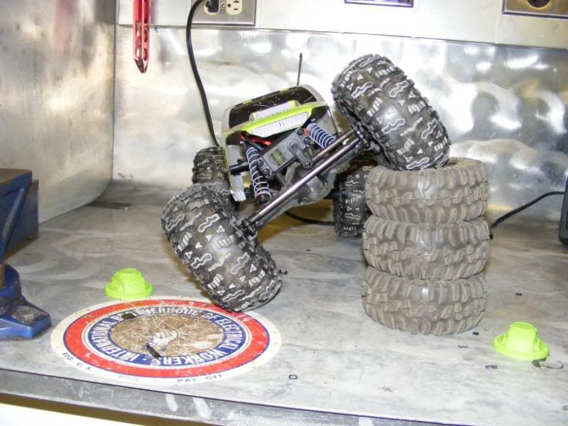 started my backyard rc play area + pics of my crawler Rcupgrade006