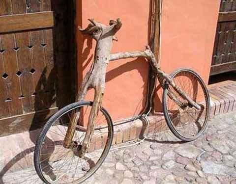 Has montado en Bicicleta? Al menos no en una de estas ;) Bici-palo