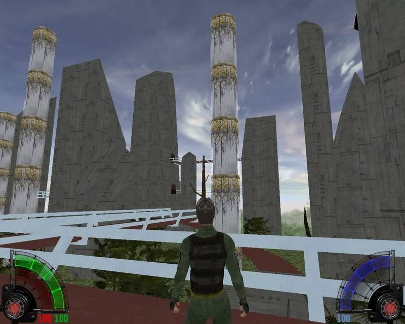 Ancient outpost/abandoned city or whatever you fancy Shot0006