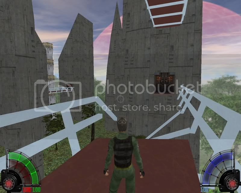 Ancient outpost/abandoned city or whatever you fancy Shot0017