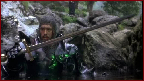 L'heroic fantasy au cinéma ExcaliburArthur-
