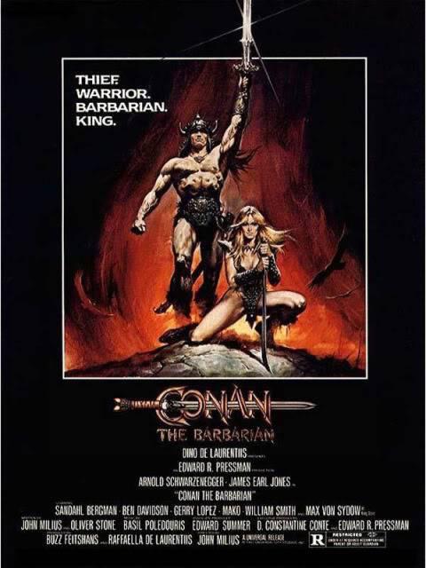 L'heroic fantasy au cinéma Conan-le-barbare-arnold