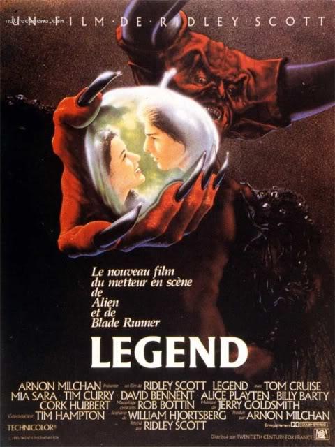 L'heroic fantasy au cinéma Legend-affiche