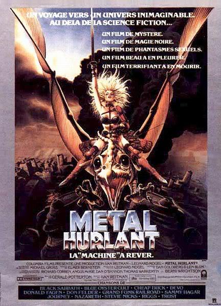 L'heroic fantasy au cinéma Metal-hurlant