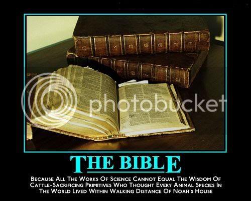 Demotivational Posters. Bible