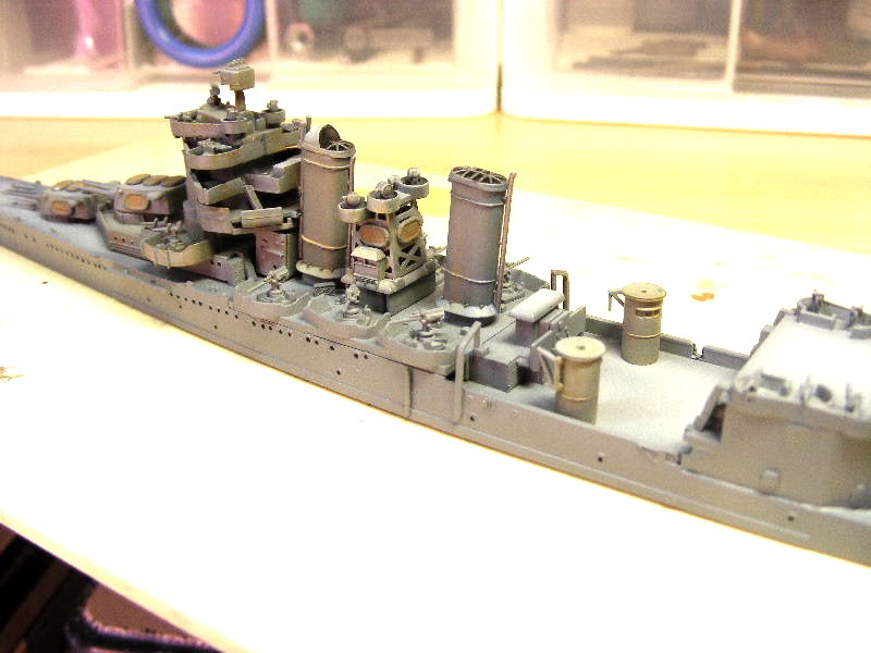 USS Minneapolis - Trumpeter 1/700ème USSminneapolisencours002