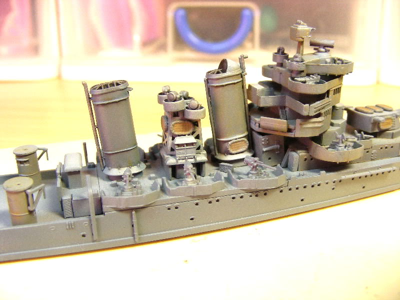 USS Minneapolis - Trumpeter 1/700ème USSminneapolisencours003