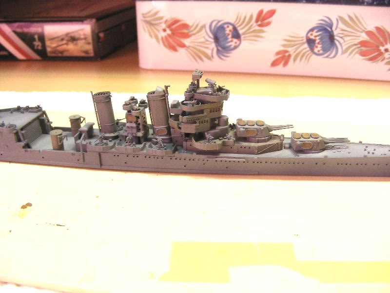 USS Minneapolis - Trumpeter 1/700ème USSminneapolisencours005