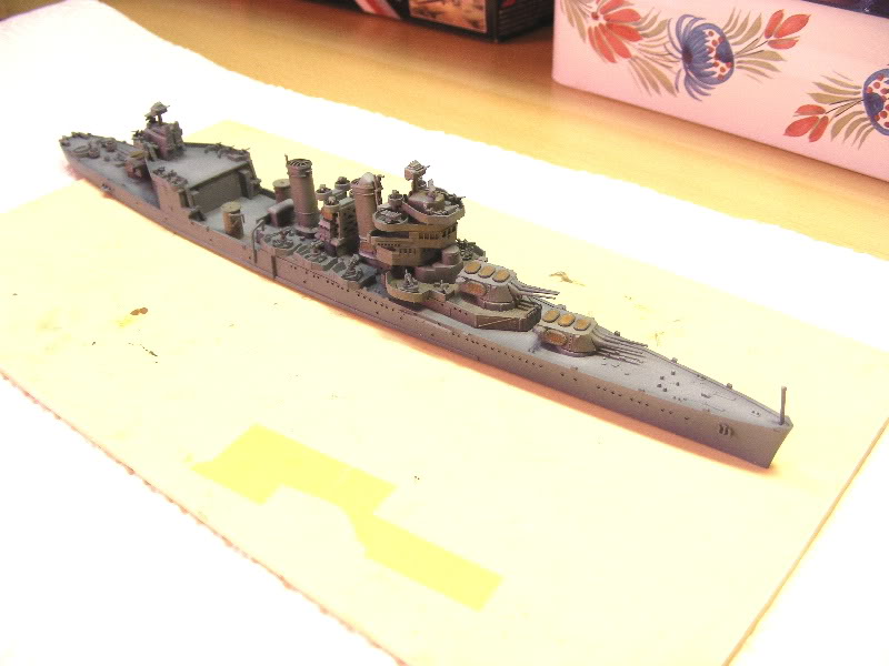 USS Minneapolis - Trumpeter 1/700ème USSminneapolisencours006