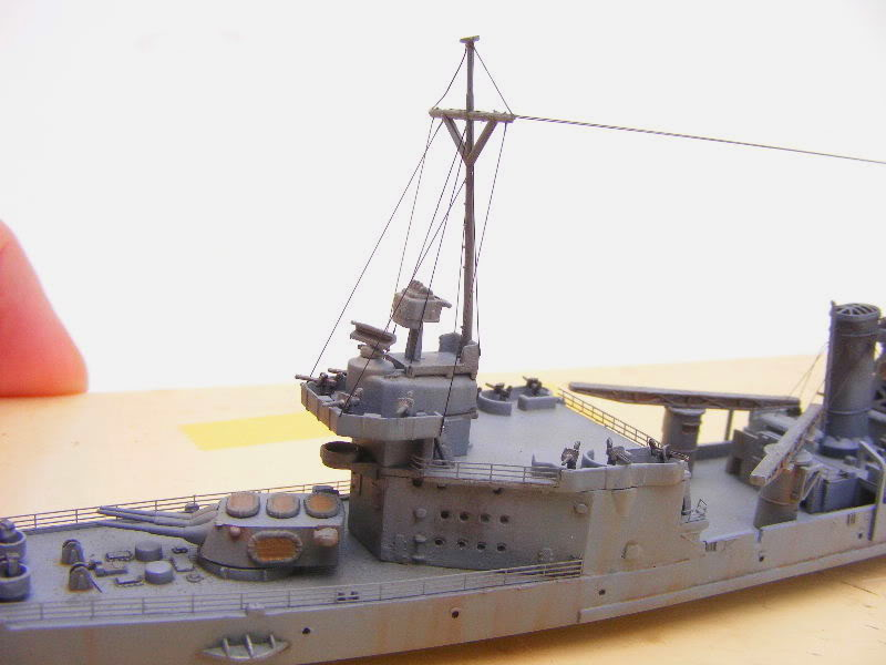 USS Minneapolis - Trumpeter 1/700ème Arrire1-1