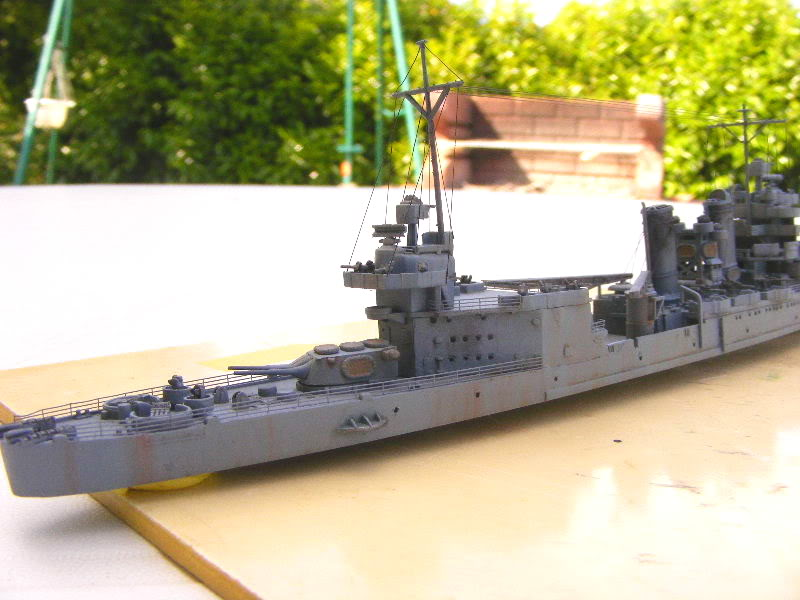 USS Minneapolis - Trumpeter 1/700ème Arrire2