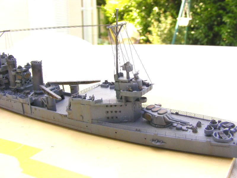 USS Minneapolis - Trumpeter 1/700ème Arrire3