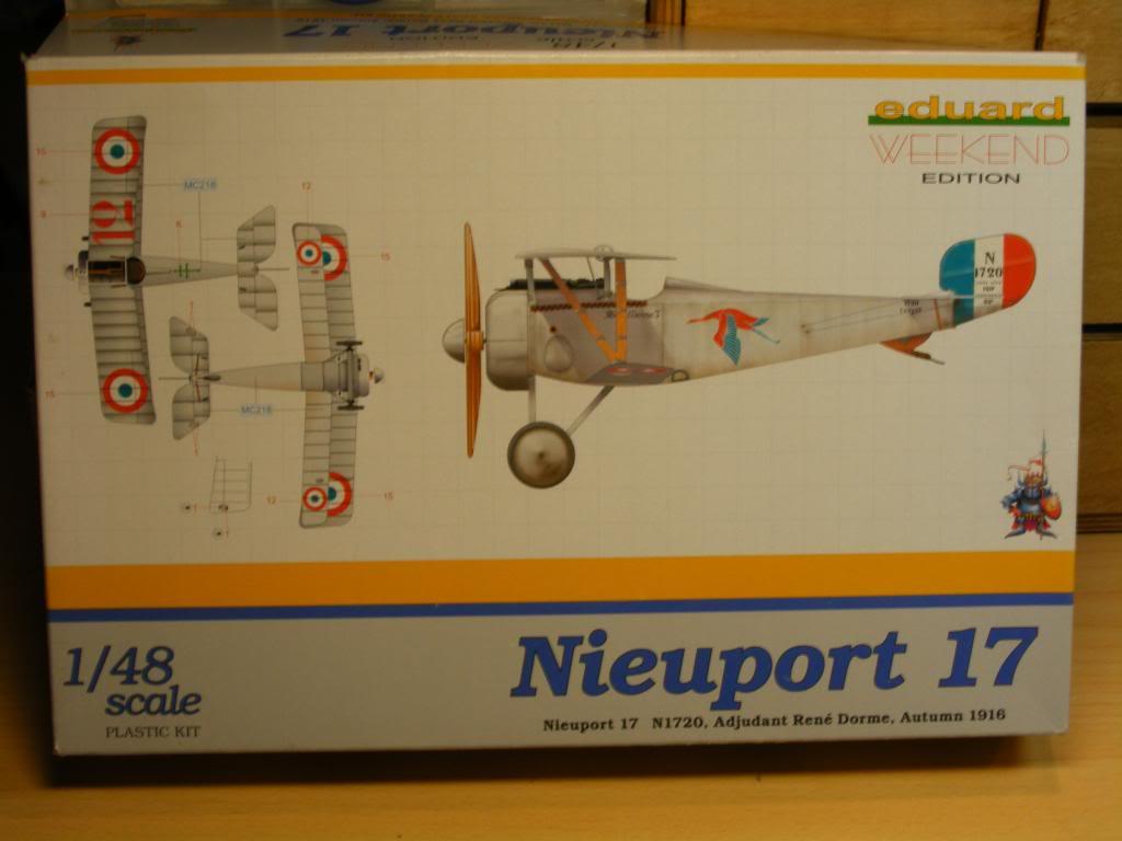 EDUARD 1/48 - Nieuport 17 - WE édition Boite-20