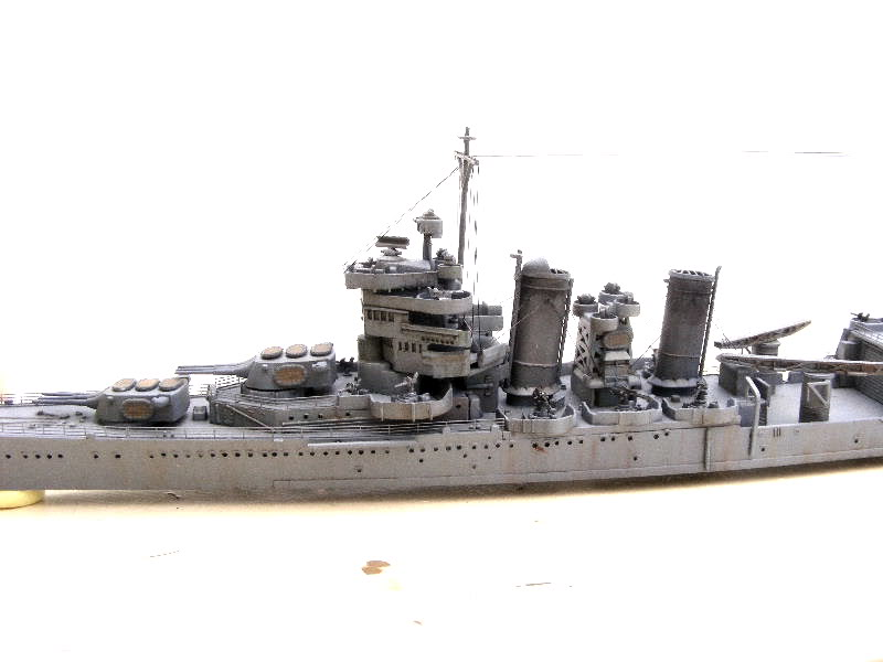 USS Minneapolis - Trumpeter 1/700ème Flanc1-1