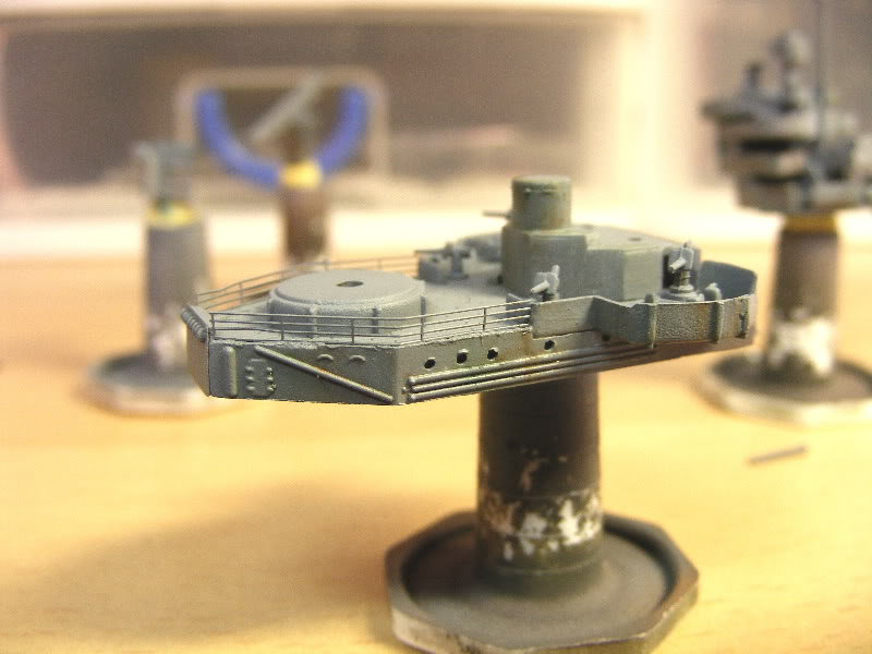 USS Minneapolis - Trumpeter 1/700ème Plateforme
