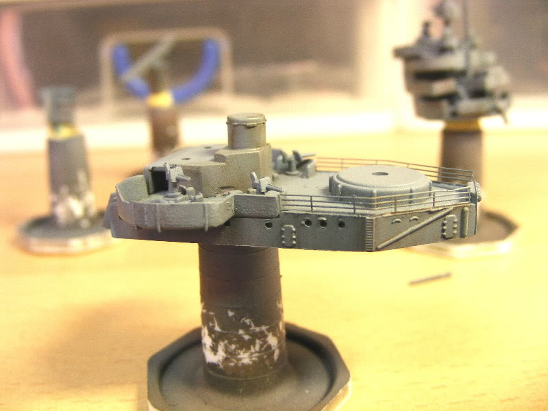 USS Minneapolis - Trumpeter 1/700ème Plateforme1