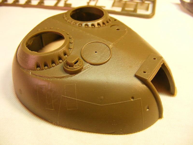 T69 II  Irakien - Trumpeter 1/35 ème Tourelleavt