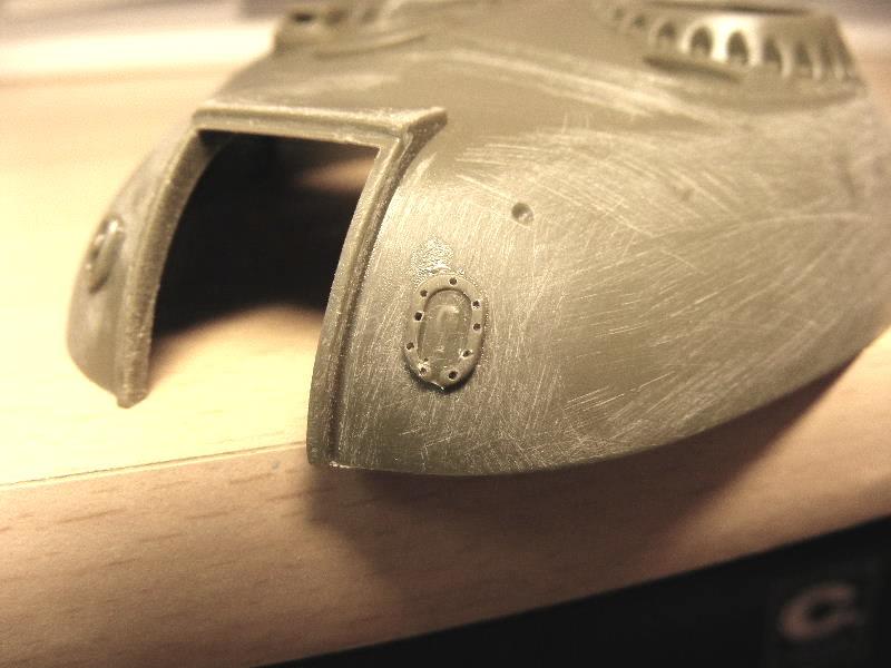T69 II  Irakien - Trumpeter 1/35 ème Tourellepicedroitemodifi
