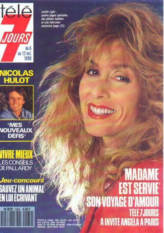 Tele 7 Jours Octobre 1990 JudithLighttlseptjours1992jpg000-1